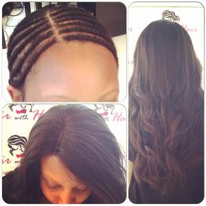 Weave hårförlängning
