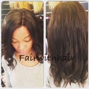 lace closure hårförlängning