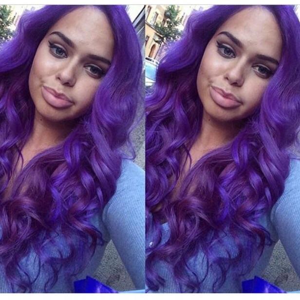 crazy color hårförlängning